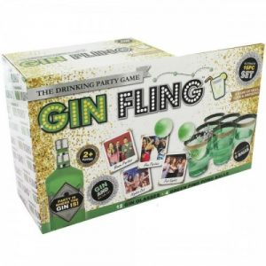Adult Drinking Game Gin Fling Ping Pong New Year Hen