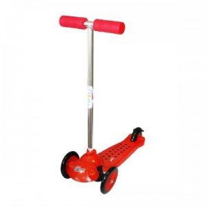 Ozbozz Trail Twister 3 Wheel Scooter 2 large Pu Wheel Outdoor