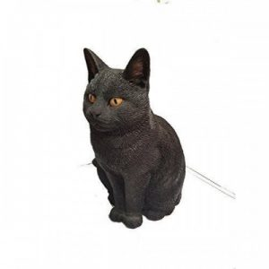 Cats Vivid Arts Real Life Black Resin Materials In Or Outdoor Use