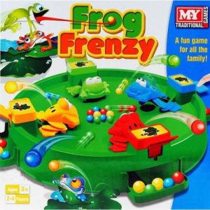 Frog Frenzy Family Board Game For Kids