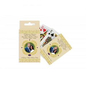 H.R.H. Prince Harry & Meghan Markle Royal Wedding 19th May 2018 Commemorative Playing Cards