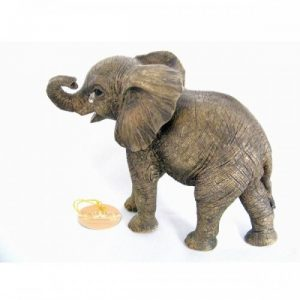 Crying Baby Elephant Ornament from the Leonardo Out of Africa