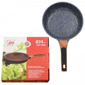 JIO Superior Cookware Aluminium Frying Pans 24cm