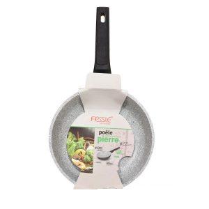 Fessle Pierre Aluminium Non-Stick Resistant Long Life Frying Pan 22cm