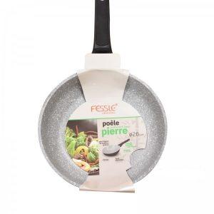 Fessle Pierre Aluminium Non-Stick Resistant Long Life Frying Pan 26cm