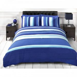 Duvet Sets Double Signature Striped Adults Teenagers Bedding Set