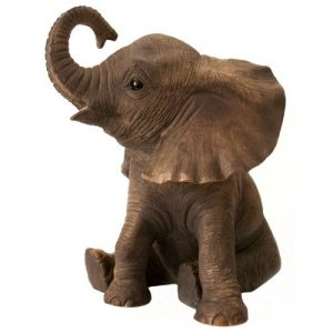 Baby African Elephant Statue From Leonardo 'Out Of Africa' Collection