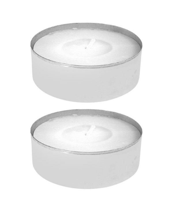 48 Unscented Tealights Price's Candles Open Window Chef's Jar Citronella Tealights Classic New