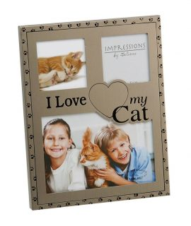 I Love My Cat Photo Frame