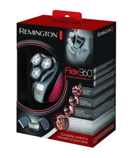 Remington-XR1410-Flex360-Rotary-Electric-Shaver-and-Groom-Kit