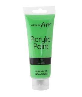 Work of Art 120 ml Acrylic Paint - Green ,6726