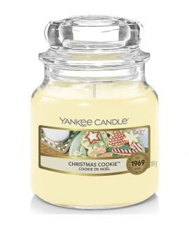 Yankee Candle Scented Candle Christmas Cookie Small Jar Candle